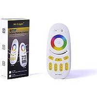 KingLed - Mi-Light Mando RGBW 4 zonas para tiras LED Multicolor 2.4GHz RF controlable a…