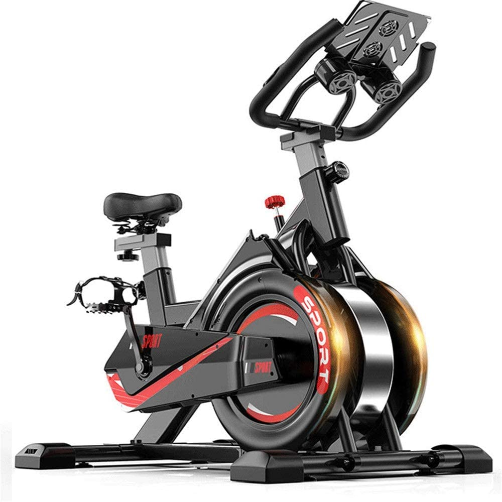 Yhjkvl Bicicleta de Spinning Bicicleta de Spinning Ultra ...