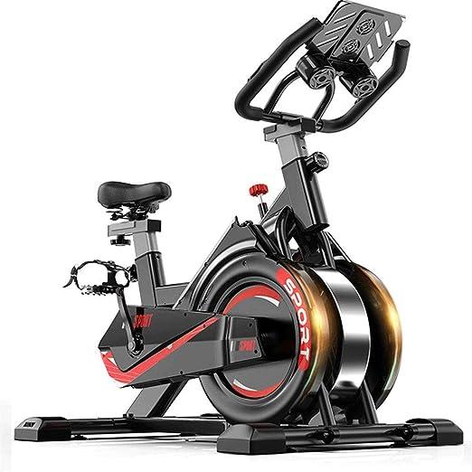 Lwieui Bicicleta de Spinning Ultra silencioso Sport Magnética Bicicleta Estática for Hogares de Interior Que Adelgaza de Bicicletas Bicicletas de Ejercicio (Color : Black, Size : 105x50x102cm): Amazon.es: Hogar