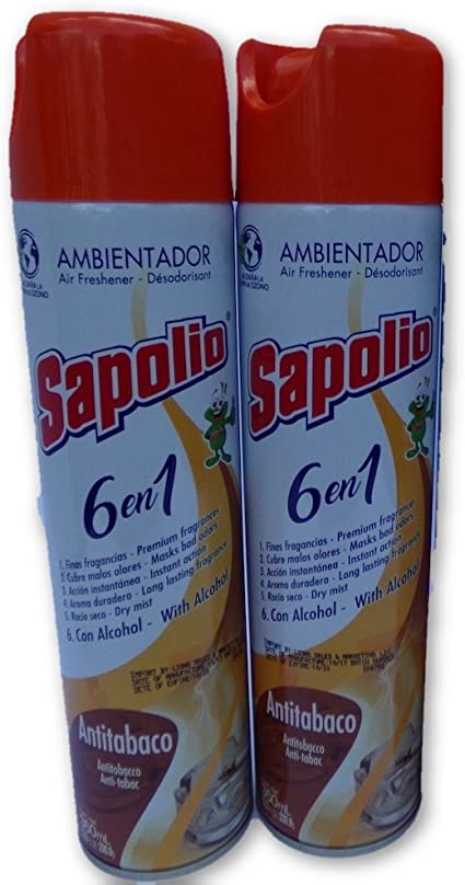 Sapolio 6 in 1 premium fragrance 5 pack
