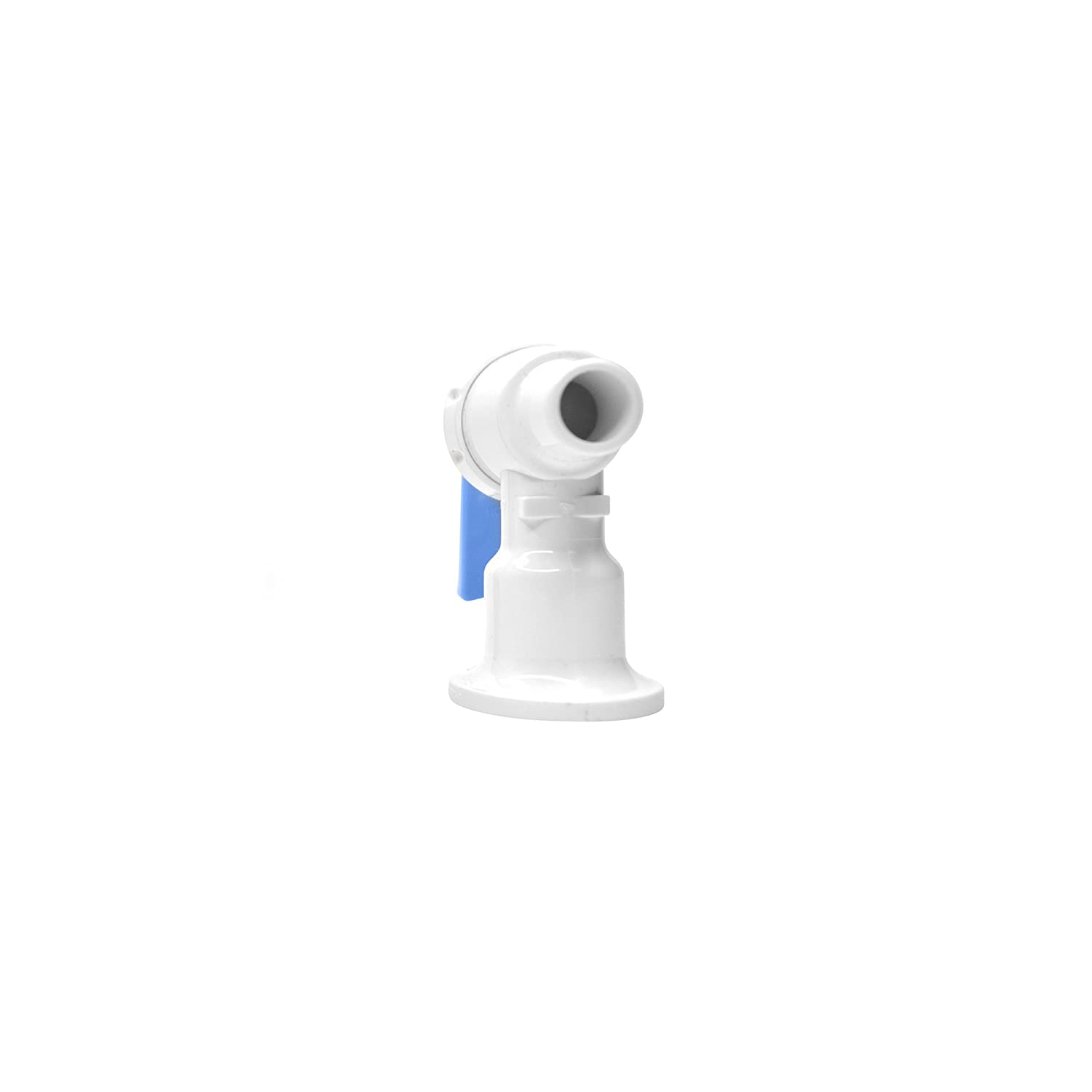 Tomlinson 1008780 Complete Faucet, White Body with Blue Handle ...