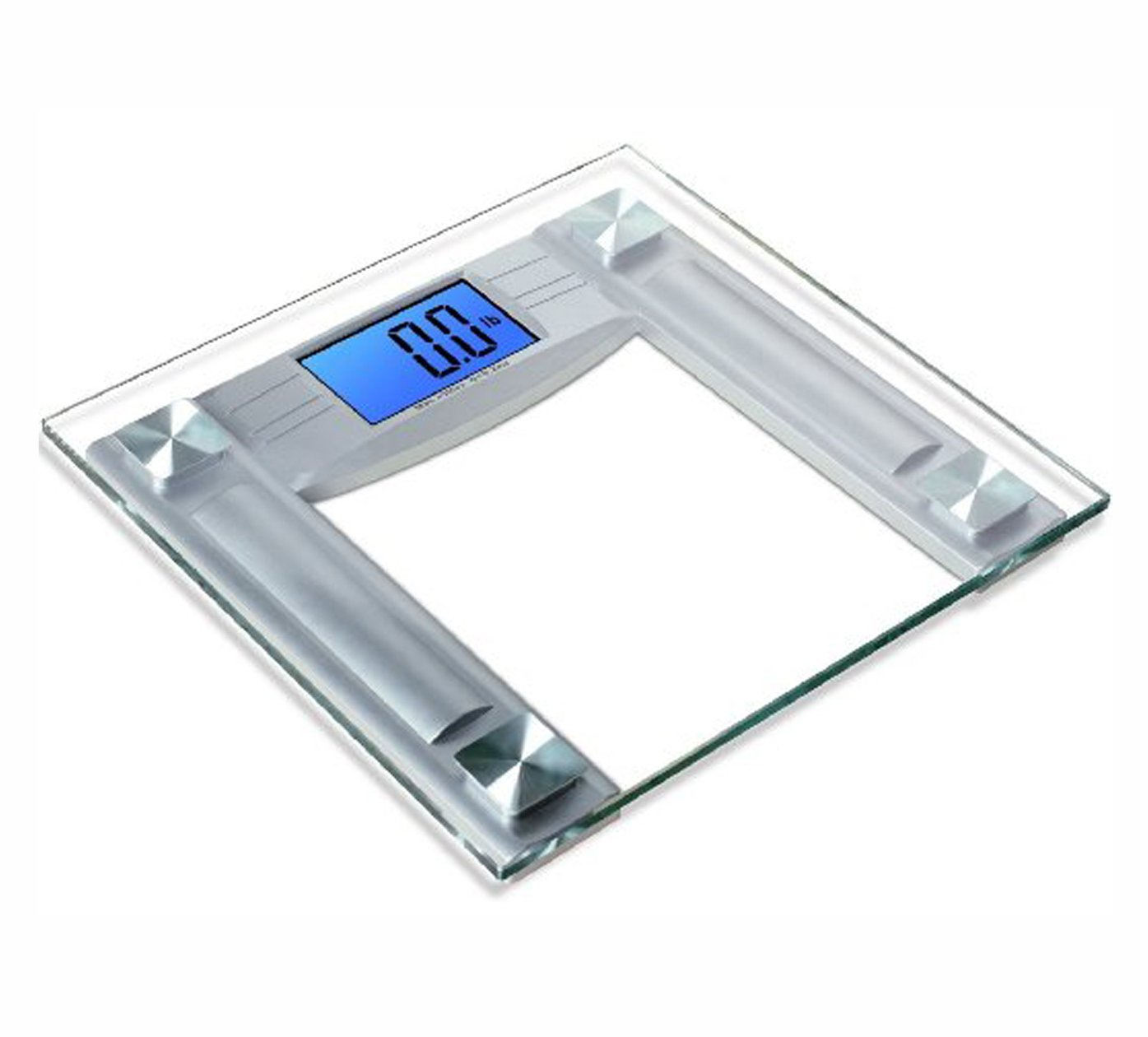 Amazon scale bathroom - Amazon Com Mosiso High Accuracy Digital Bathroom Scale With 4 3 Blue Backlight Display And Smart Step On Technology Newest Version Silver Health