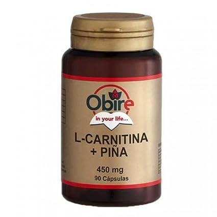 L-CARNITINA + PIÑA 450 mg 90 cápsulas