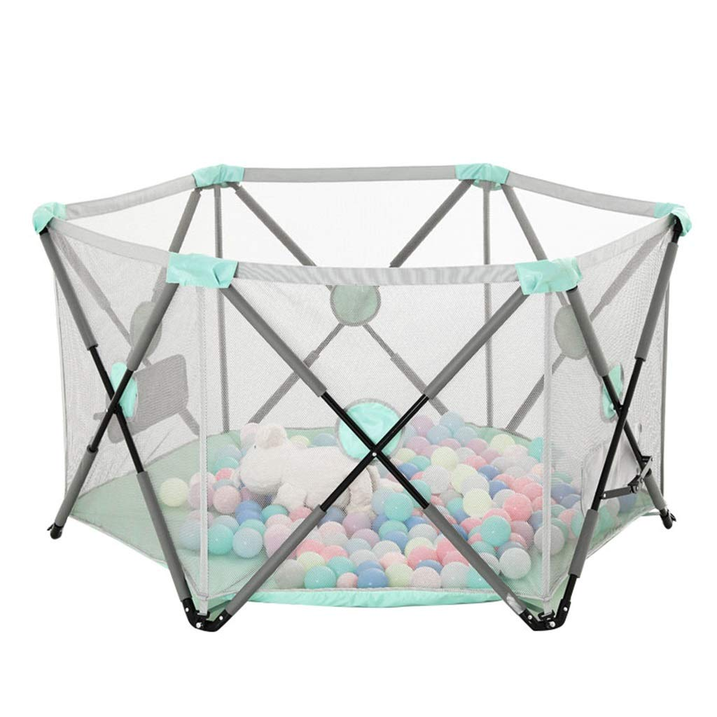 Playpen Tent Baby Safety Gate Portable & Travel Kids Ball Pit Playpen Ball Pool,Indoor and Outdoor Easy Folding Play House Play Space for Children Baby (Excluding The Ball)