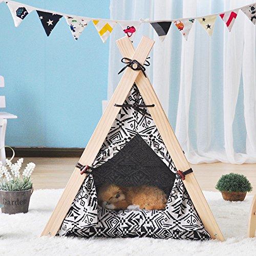 Allgemeine Haustierzelt Waschbare Hund Betten Kleine Hund und Katzenstreu Die Kennel Haustierbedarf