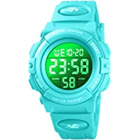Kid Watch for Boy Girl Child Multi Function Digital LED Sport 50M Waterproof Electronic Analog Quartz Watches Gift Black