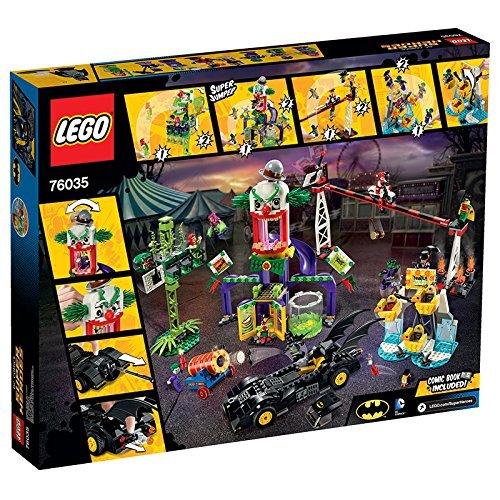 LEGO DC Universe Batman Super Heroes Jokerland 1037 Piece Building Kit