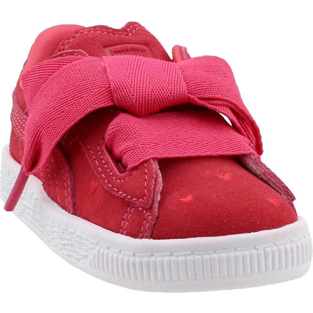 cheap for discount 03691 7e1e6 PUMA Kids Womens Suede Heart Valentine (Toddler)