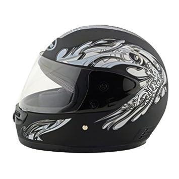 Casco de seguridad para motocicleta, motocicleta, moto, scooter, 101 color negro