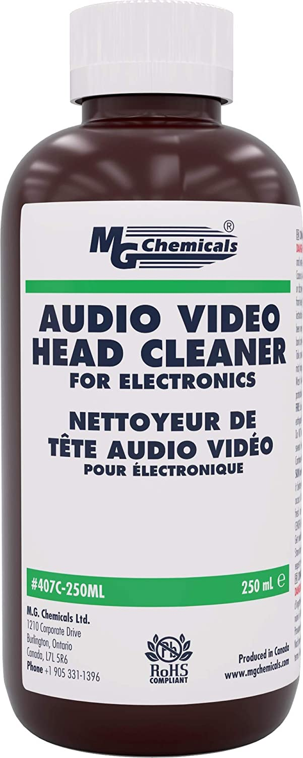 Vcr head cleaner poppers