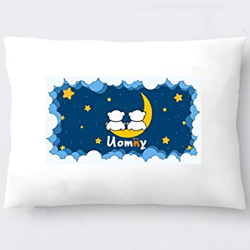 Kids Toddler Pillowcases UOMNY 2 Pack 100/% Cotton Pillowslip Case Fits Pillows sizesd 13 x 18 or 12x 16 for Kids Bedding Pillow Cover Baby Pillow Cases Bear//Penguin