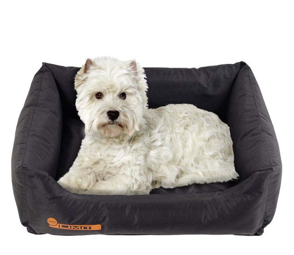 Black 90 x 65 x 20 cm Black 90 x 65 x 20 cm Karlie No Limit Pet Bed, 90 x 65 x 20 cm, XL, Black