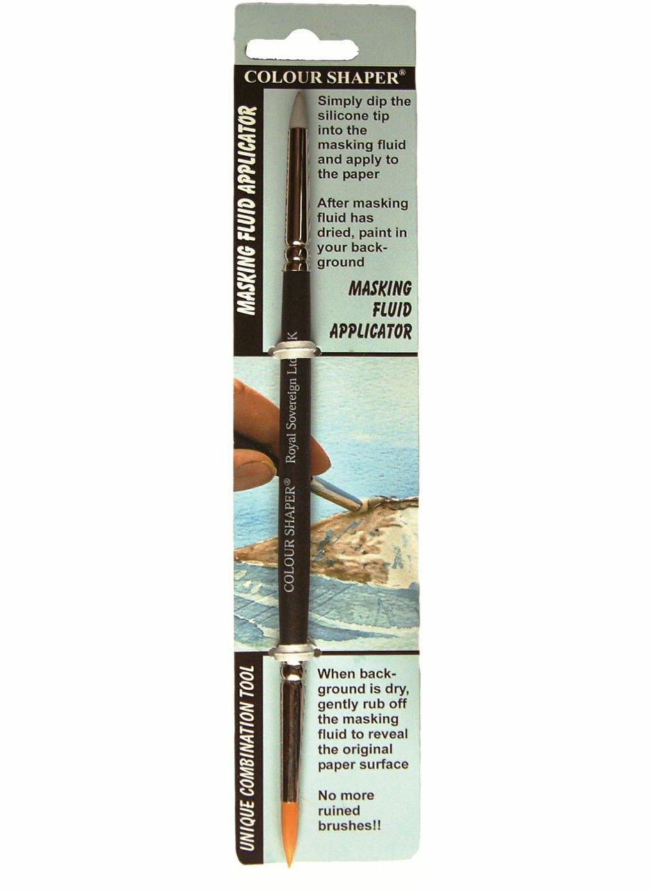 Colour Shaper Couble-End Masking Fluid Tool ARMADILLO ART & CRAFT 55403