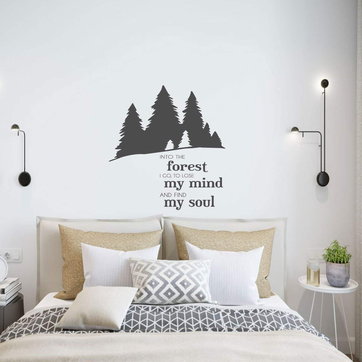 Amazon Outdoors Vinyl Wall Decal John Muir Nature Quote