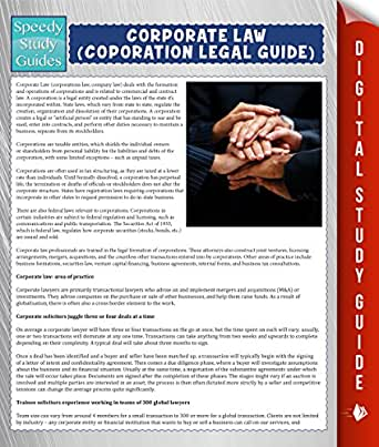 law and the coporation Much of 15617 focuses on mergers and acquisitions (m&a), and the law-sensitive aspects of financial services and financial markets the course is designed.