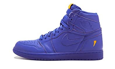 9c0c0347a762 Image Unavailable. Image not available for. Color  Jordan Air 1 Retro Hi OG  G8RD Rush Violet Rush ...