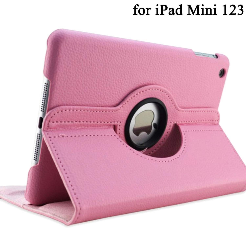 超人気高品質 360度回転スタンドケース iPad 2 Mini 1 2 3用ケース 3 PUレザー スマートフリップカバー iPadミニケースカバー iPad スリープ/ウェイク用 2hNb8VuXhcUp9rW5lQTC pink for mini 1 2 3 B07L4XFX2Q, イワムロムラ:f306f178 --- a0267596.xsph.ru