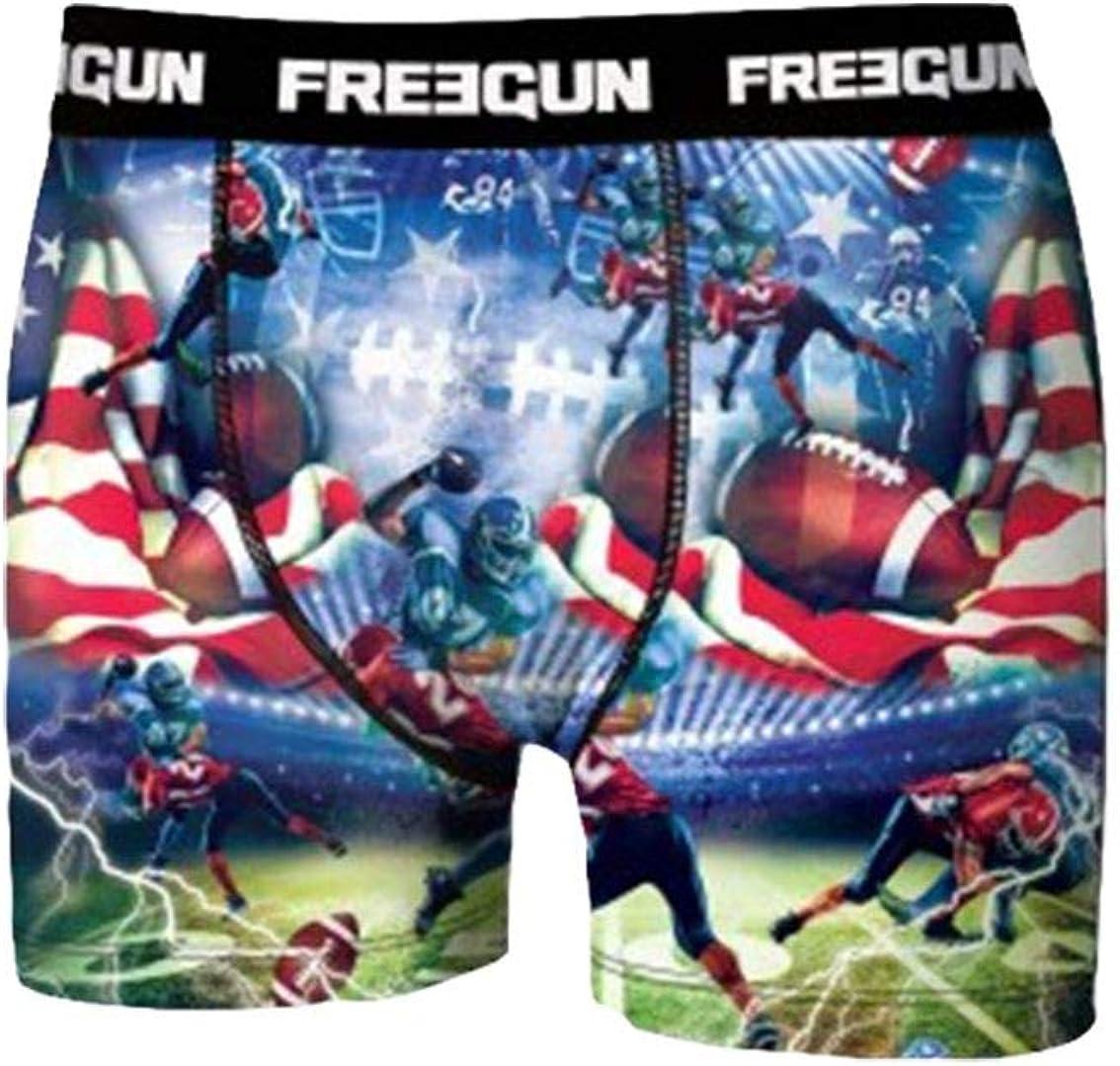 para Ni/ños Multicolor G2 Multicolor Pack de 4 6-7 a/ños Talla del Fabricante: 6//8 FREEGUN Lot De 4 Boxer Garcon Disney Pantalones