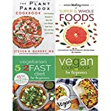 img - for Plant paradox cookbook [hardcover], hidden healing powers, vegetarian 5 2 fast diet and vegan cookbook 4 books collection set book / textbook / text book