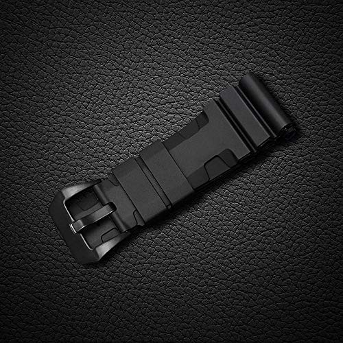 24mm Rubber Diver Replacement Watch Band PVD Buckle fit for Men Panerai Luminor Radiomir 42mm by Windam (Image #3)