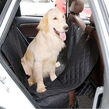 Trucks Black and Suv/'s Luxury Pet Car Seat Cover with Seat Anchors for Cars