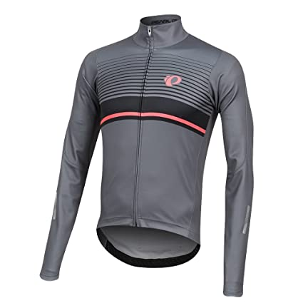 0a8fe388b Image Unavailable. Image not available for. Color  Pearl iZUMi Elite Pursuit  Thermal Graphic Jersey ...