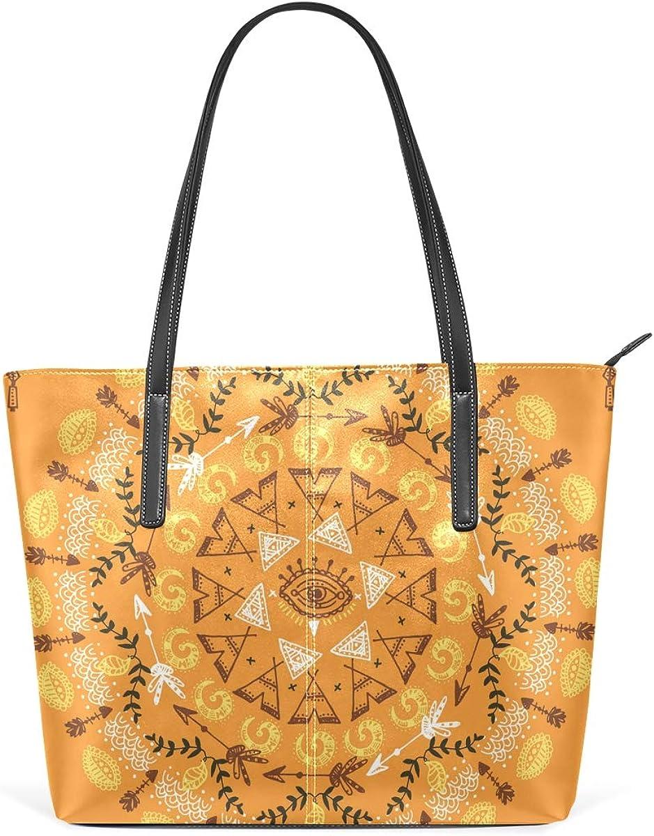 DEZIRO - Bolso de hombro clásico con patrón de mandala para ...
