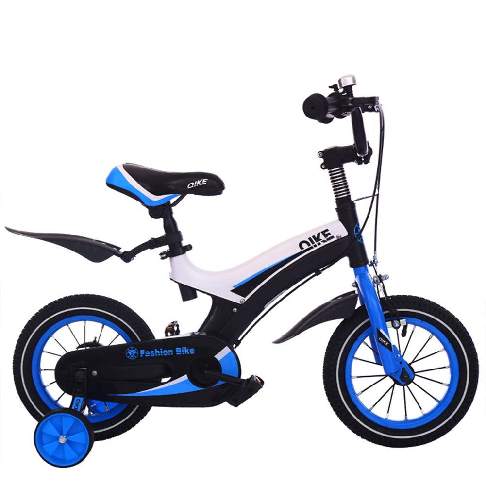 tiendas minoristas azul 1-1 Bicicleta para niños niños niños Ligero Freno de Disco Doble Niño Niña 16 Pulgadas  están haciendo actividades de descuento