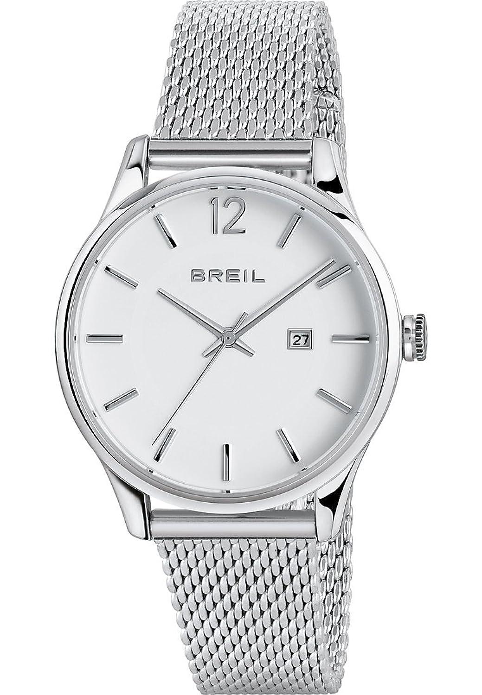 Breil Damen-Armbanduhr Analog Quarz One Size - weiß - silber
