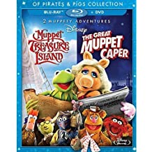 2 Muppety Adventures: The Great Muppet Caper/Muppet Treasure Island Of Pirates & Pigs