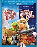 2 Muppety Adventures: The Great Muppet Caper/Muppet Treasure Island Of Pirates & Pigs [Blu-ray]