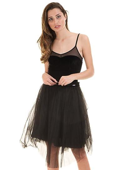 Guess Dancer Falda, Negro (Jet Black Jet Black), S para Mujer ...
