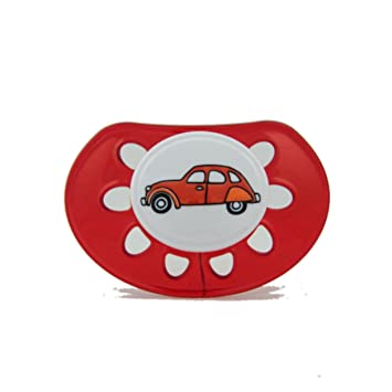 Amazon.com : Classic Silicone RED with CAR : Baby