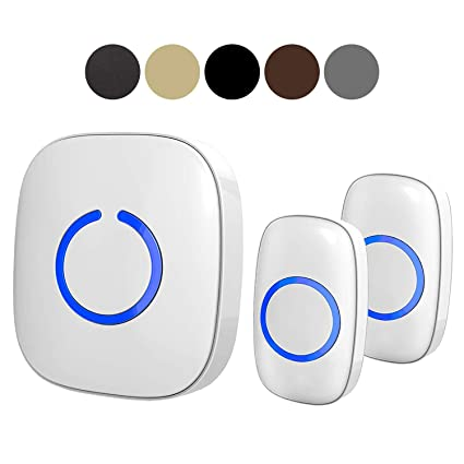 SadoTech Model CX Wireless Doorbell, 2 Remote ons, Easy Install, Range on