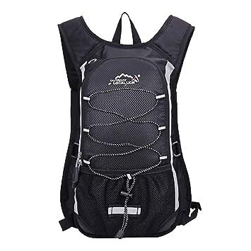kolpop Mochila Hidratacion Ciclismo MTB, 10L Backpack con Capa Interna Aislada Compatible con Vejiga de