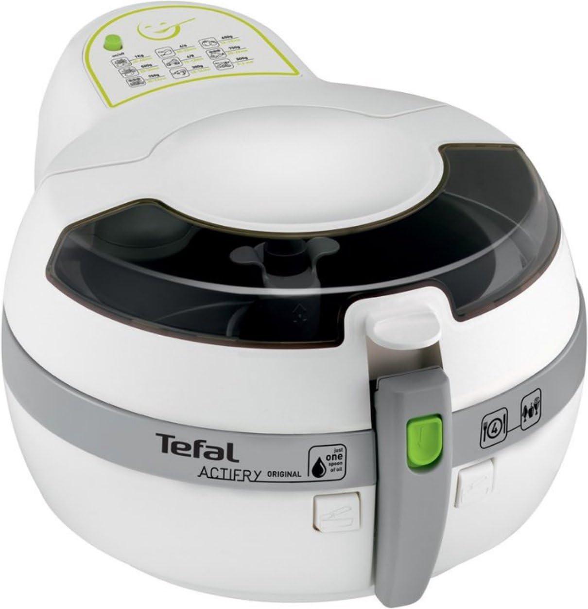 Tefal FZ7010 - Freidora (150 °C, Solo, Gris, Color blanco, Stand ...