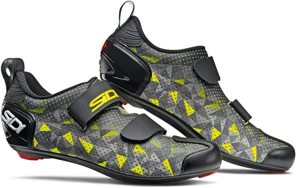 Sidi - Zapatillas de Ciclismo T-5 Air, para Hombre, Color Gris ...