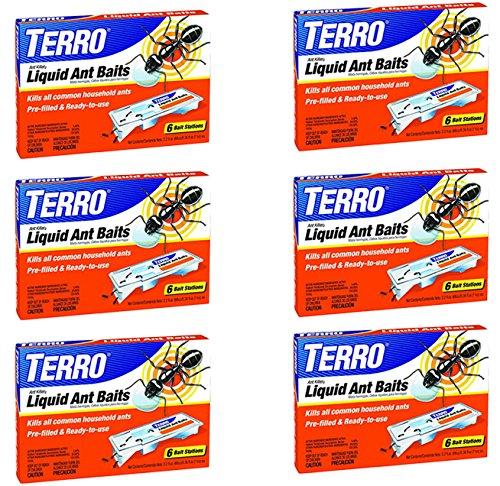 6 Pack Terro Liquid Killer Baits product image
