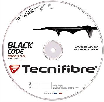 Tecnifibre Black Code 4S de tennis de cordes