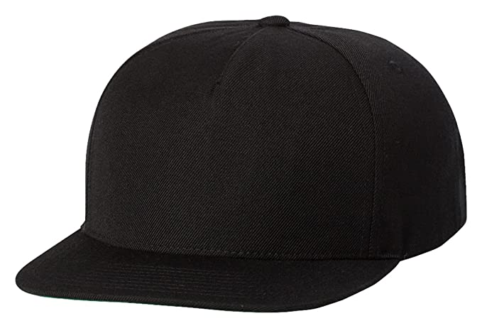 9b6ca460a17980 Yupoong 5089M & 5089MT Premium 5 Panel Snapback by Flexfit at Amazon Men's  Clothing store: