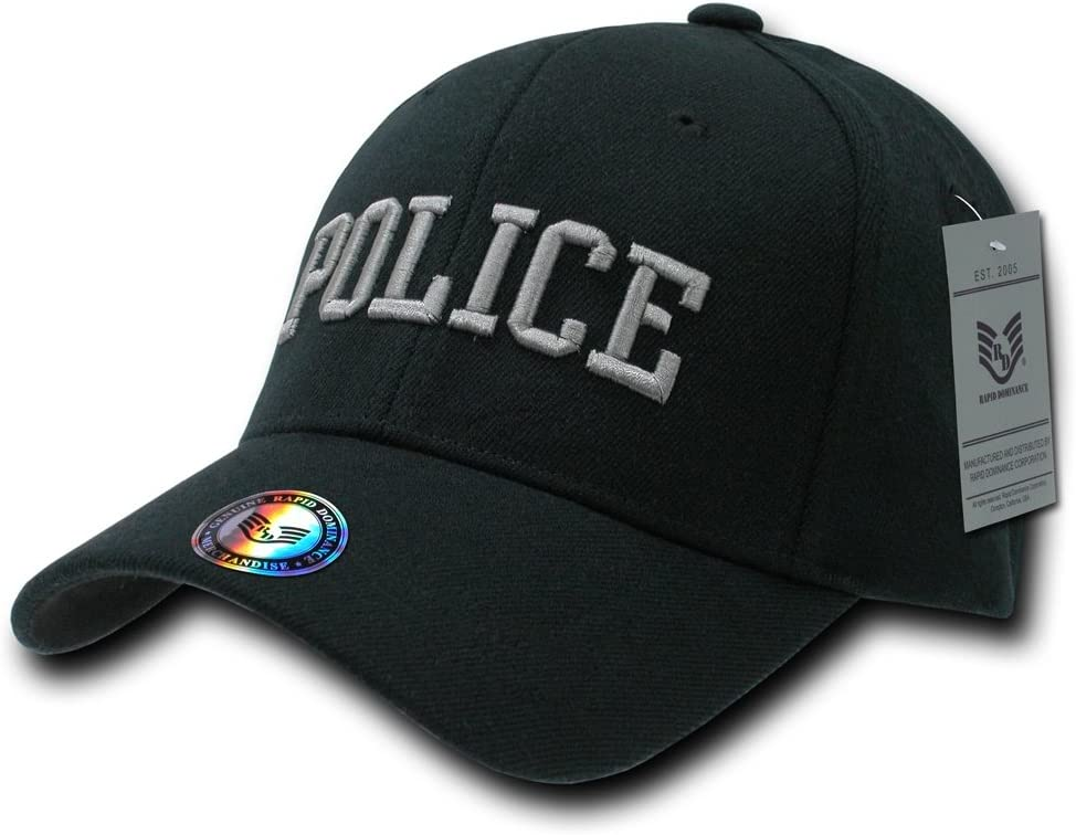 Rapiddominance Police FitAll Flex Cap: Clothing