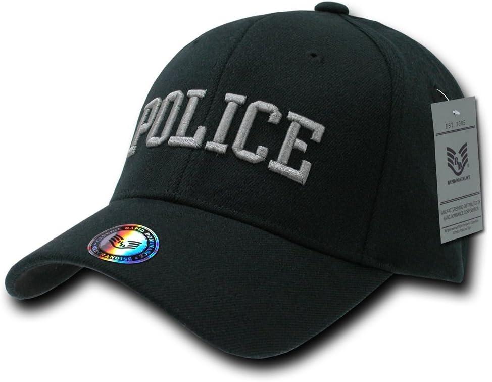 fitall de policía Rapiddominance Flex Gorra, Hombre, Negro: Amazon ...