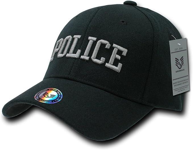 fitall de policía Rapiddominance Flex Gorra, Hombre, Negro: Amazon.es: Deportes y aire libre