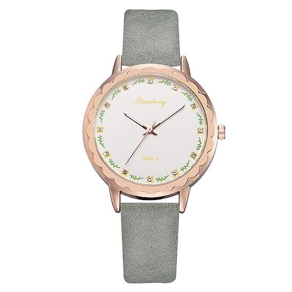 Firally - Reloj de Pulsera para Mujer, de Moda, Sencillo y ...