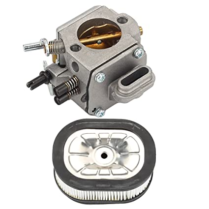 Amazon com: Harbot MS440 Carburetor with Air Filter for