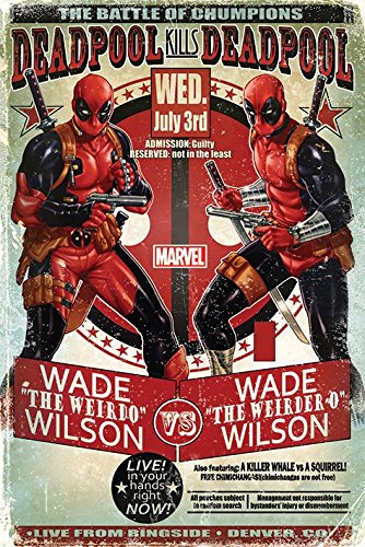 Deadpool - Marvel Comics Poster / Print