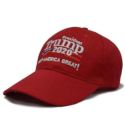 Quiet.T Trump 2020 - Gorra, diseño de Bandera de Estados Unidos ...