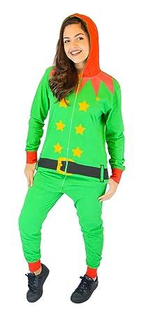 Elf Costume (Green Detail) premium adult onesie w0zZ0P