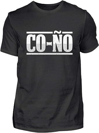 Coño para la Gente con Humor - Camisa de Hombre: Amazon.es ...