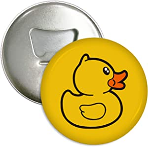 Cute Yellow Duck Refrigerator Magnets Beer Bottle Opener Coke Bottle Wine Soda Openers Kitchen Magnet for Home Decor Pocket Size